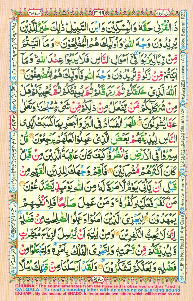 Alquran on page 377 quran